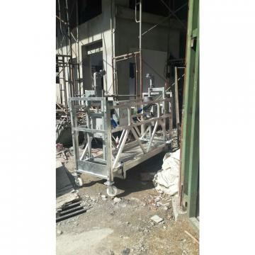 Aluminium ZLP630 100m steel electric suspended scaffolding for building cleaning