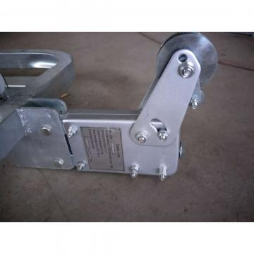 Electric suspended platform LS30 anti tilting safety lock