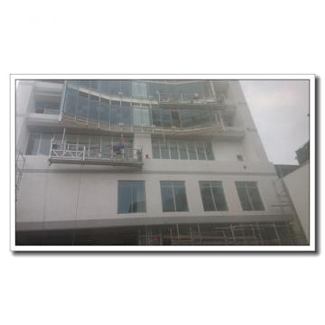 High rise window cleaning steel suspended platform ZLP800 in China