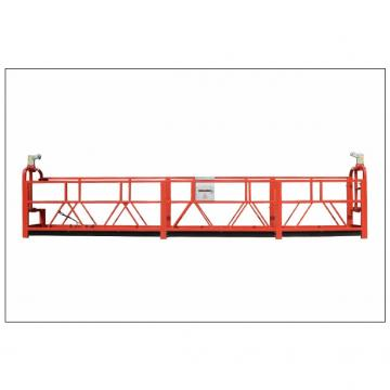 Painting steel 630kg ZLP630 suspended platform for building cleaning