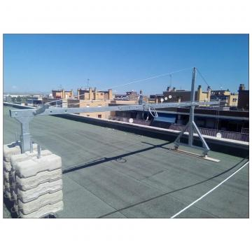 Building maintenance aluminium ZLP630 eletric hanging suspended platform