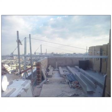 Building maintenance aluminium ZLP630 hoist motor suspended platform