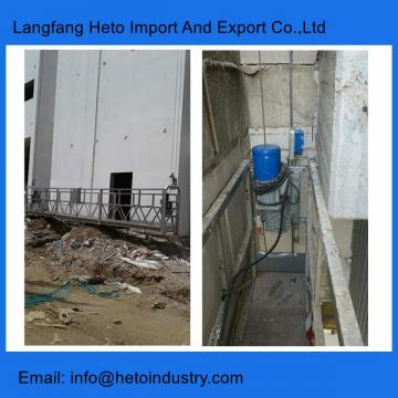 Construction building maintenance scaffolding Indonesia 3m aluminium temporary gondola platform