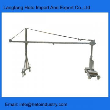 Building cleaning steel ZLP630 temporary suspended platform in China