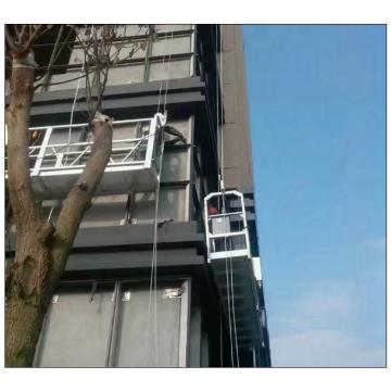 High rise building 6 meters ZLP630 facade cleaning gondola