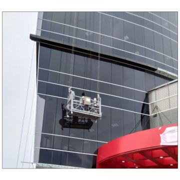Safety aluminium ZLP630 eletric suspended platform cradle on rent in Dubai