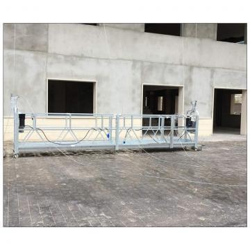 Building cleaning Philippines ZLP630 hoist suspended platform