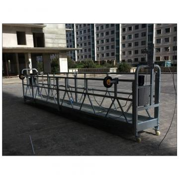 High rise building 6 meters ZLP630 building maintenance gondola