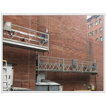 Facade cleaning system galvanized steel ZLP630 access suspended working for sale