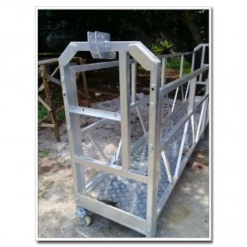 Window cleaning galvanized steel ZLP630 suspended working platform