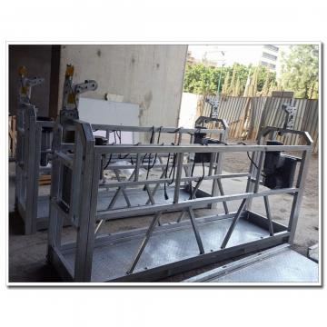 Safety aluminium ZLP630 eletric cradle for building cleaning in Dubai