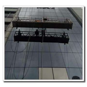 Safety aluminium ZLP630 eletric cradle for building maintenance in Dubai