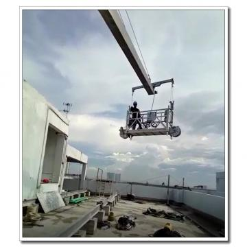 Easy installation ZLP630 6 meters building maintenance rope suspended platform
