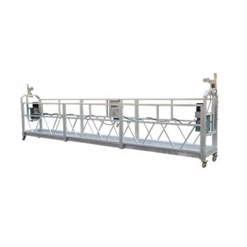 Aluminium 6 meters ZLP630 counter weight suspended scaffolding
