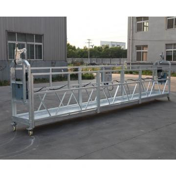 High rise building 6 meters ZLP630 suspended wire rope platform