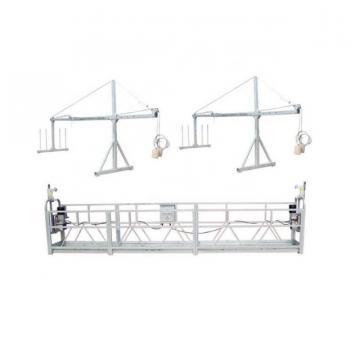 Aluminium 630kg 6 meters suspended platform for building cleaning