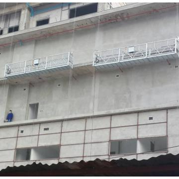 Aluminum 6 meters temporary window cleaning suspended platform