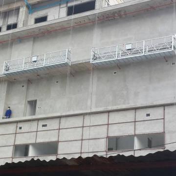 Electric suspended scaffolding platform ZLP630 LTD63 hoist motors