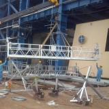 High performance galvanized steel painting steel ZLP630 building maintenance gondola