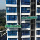 High performance galvanized steel painting steel ZLP630 building gondola system